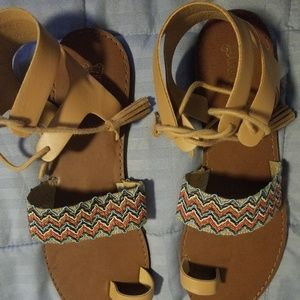 Brash Multicolor Sandal